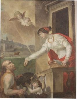 tableau de sainte Macrine