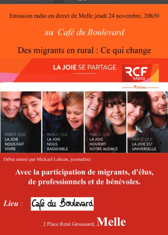 Cafe Du Boulevard Melle  Nov